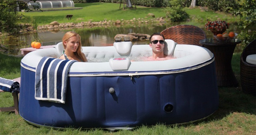 spa gonflable 2 places intex
