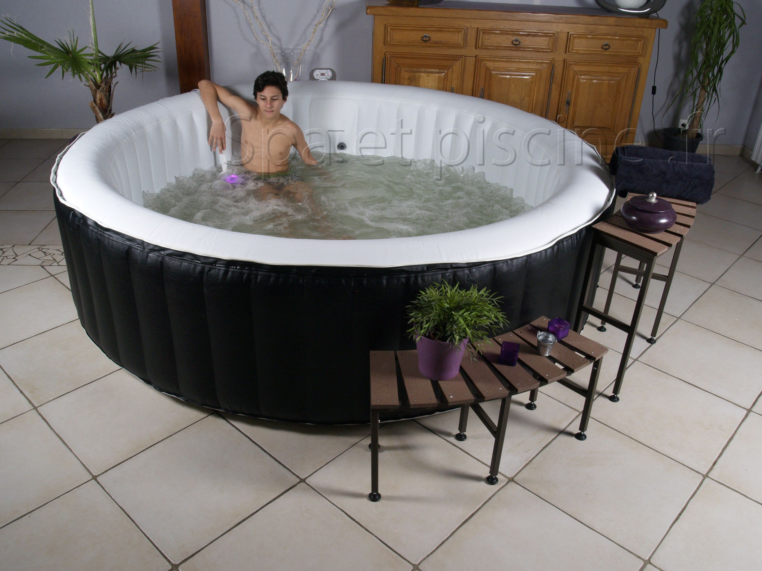 spa gonflable 8 personnes