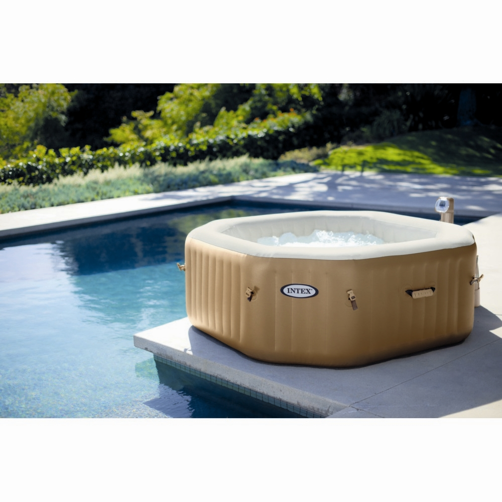 spa gonflable a bulles pure spa intex 4 places