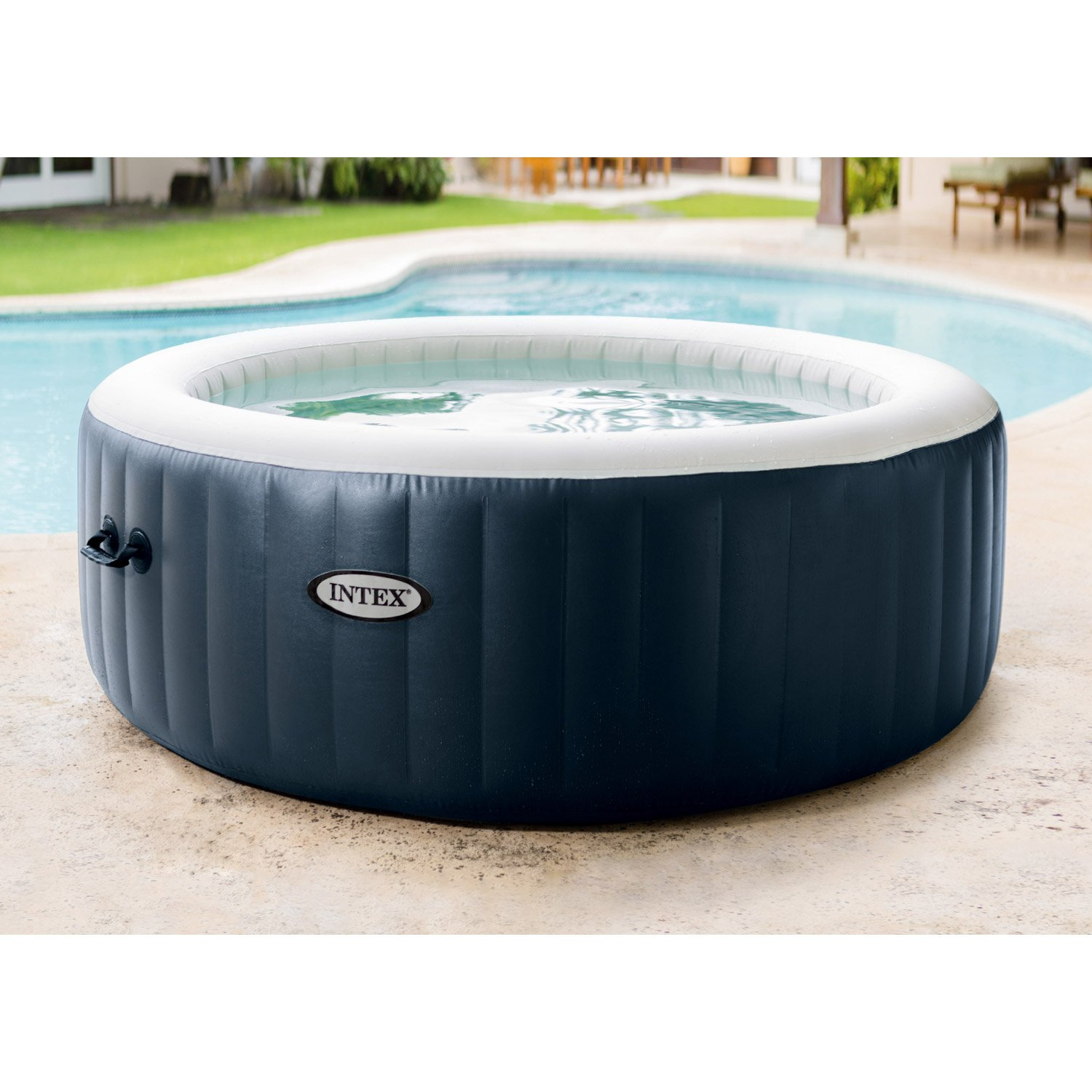 spa gonflable a bulles pure spa intex 6 places