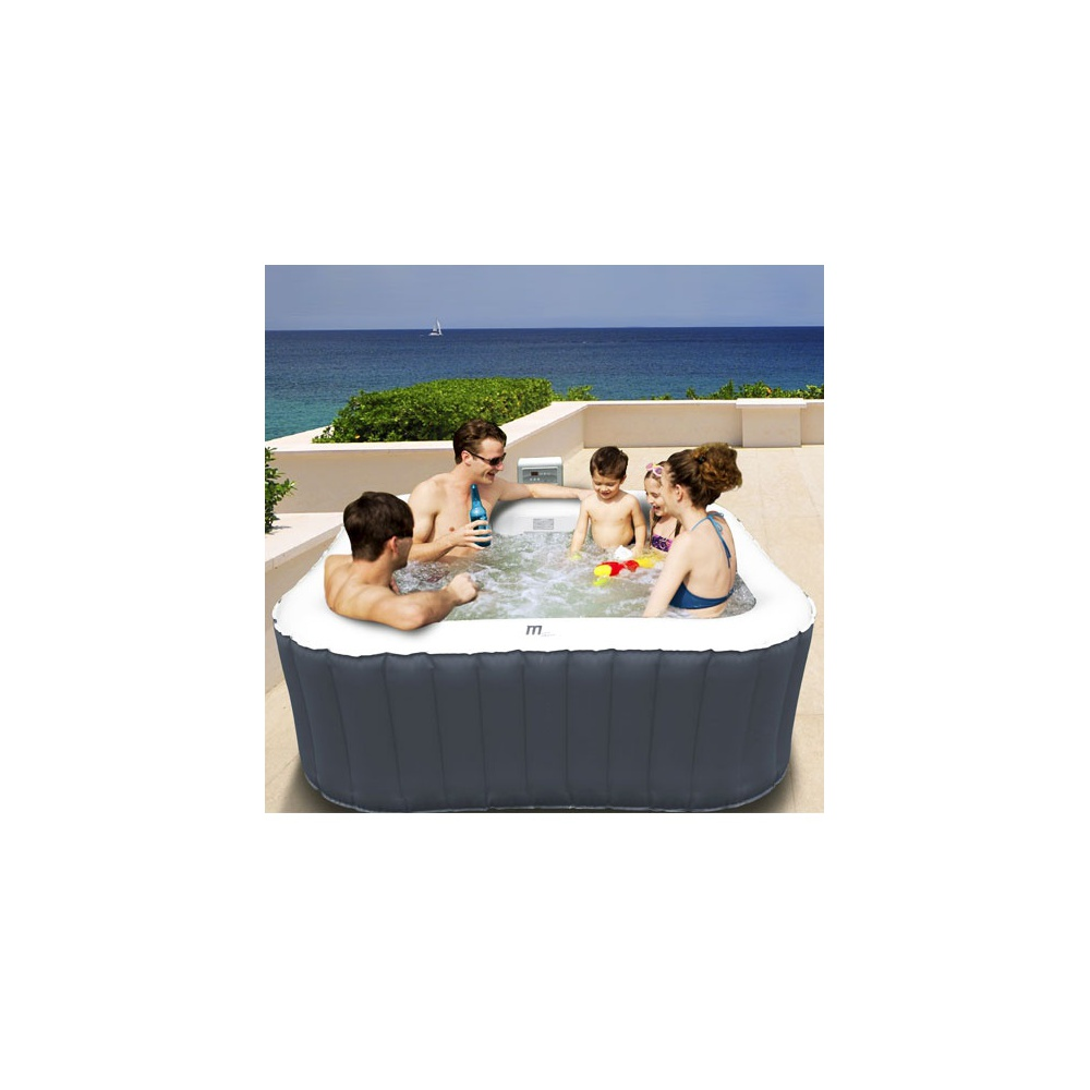 spa gonflable carre alpine
