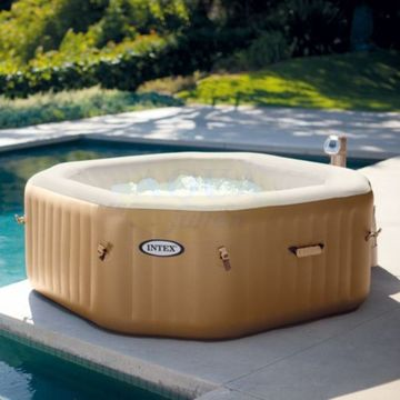 spa gonflable carre intex
