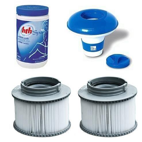 spa gonflable entretien eau