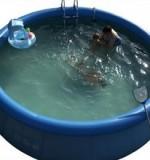 spa gonflable fuite eau