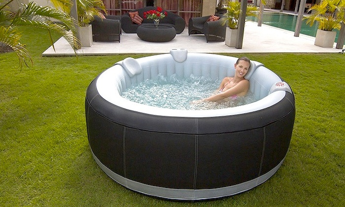 spa gonflable groupon