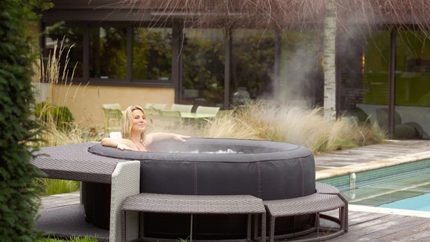 spa gonflable hivernage
