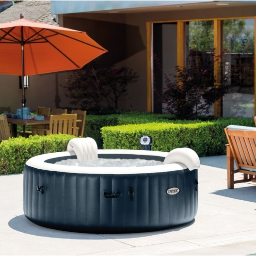spa gonflable intex purespa led rond 6 places assises