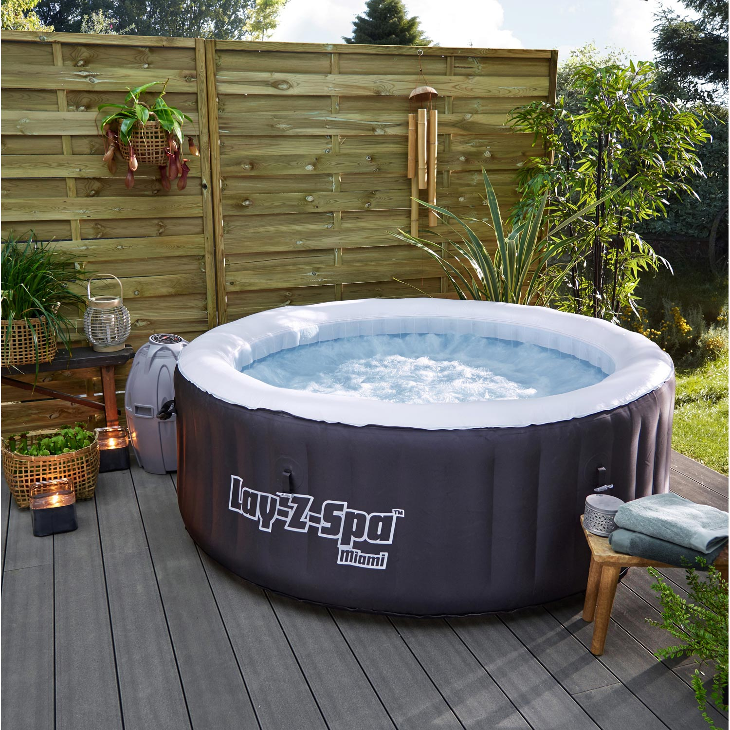 spa gonflable jacuzzi