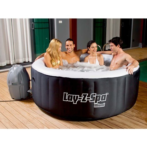 spa gonflable lay-z-spa miami