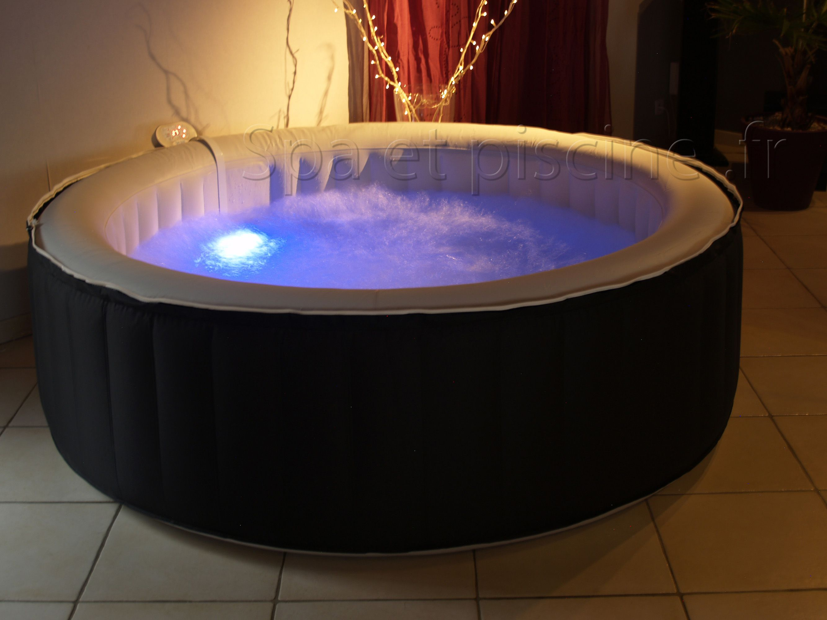 spa gonflable led
