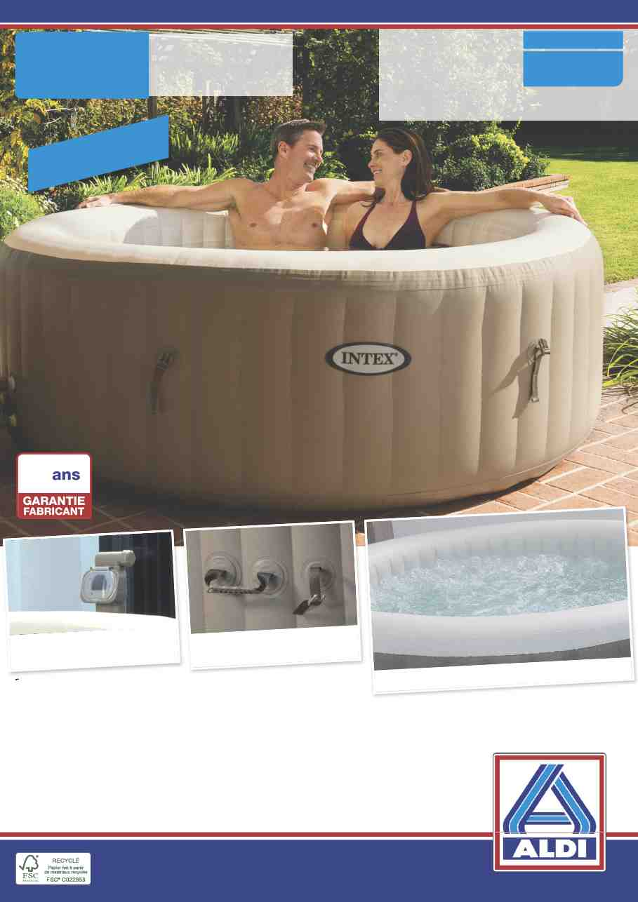 spa gonflable lidl