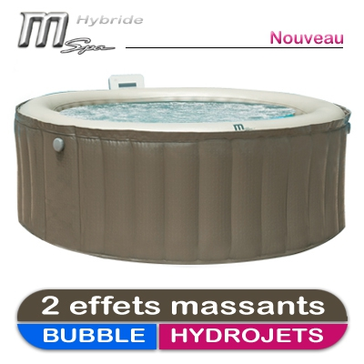 spa gonflable massant