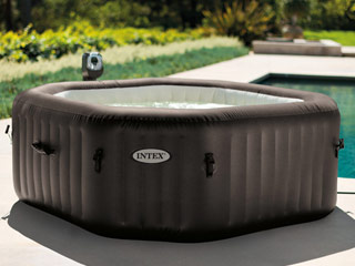 spa gonflable octogonale intex