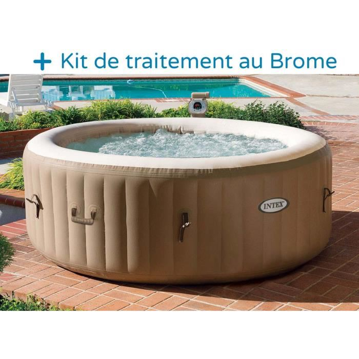 spa gonflable pas cher intex