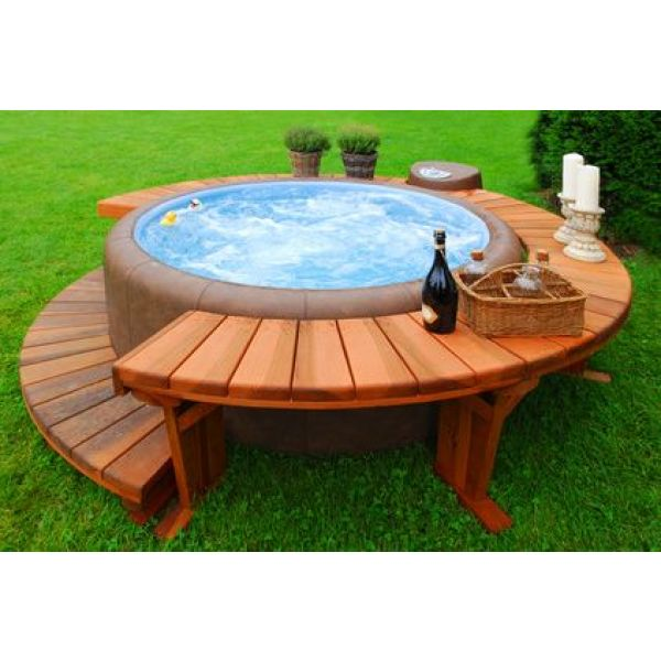 spa gonflable piscine
