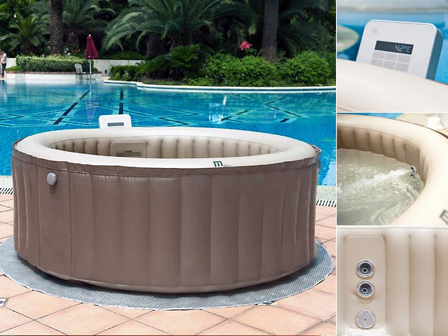 spa gonflable rond 180 x 70 cm