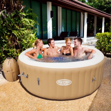 spa gonflable rond lay-z miami - 2 a 4 personnes