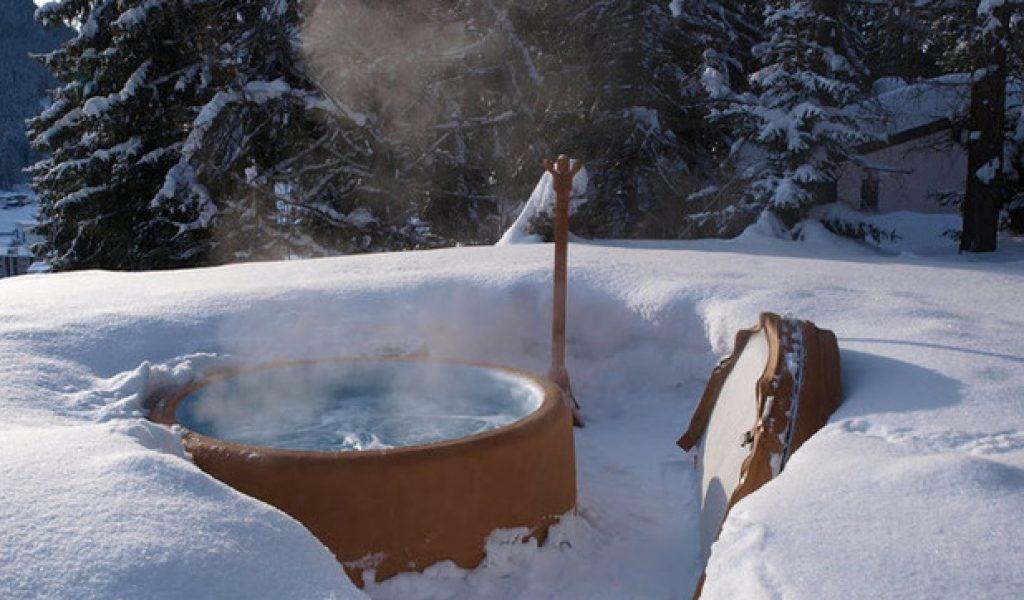 spa gonflable utilisation en hiver
