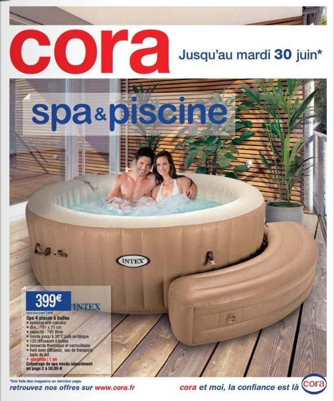spa intex 4 places cora