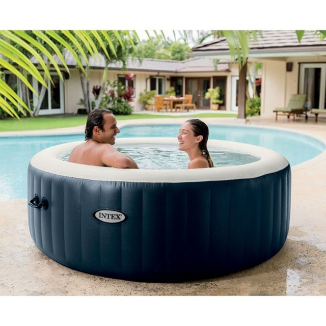 spa intex 6 places bleu