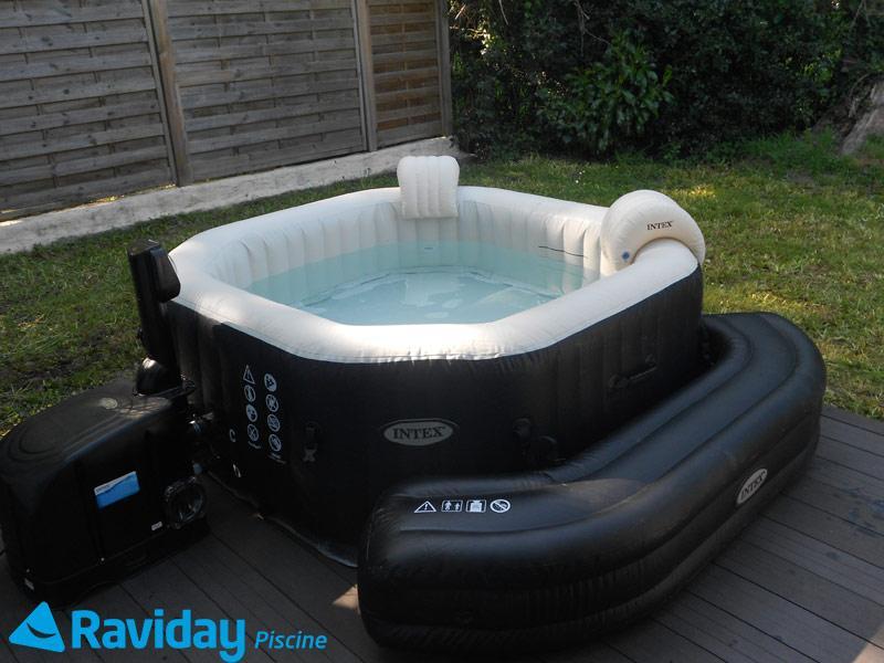 spa intex avec piscine