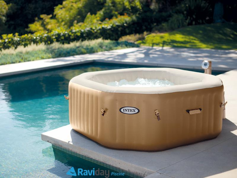 spa intex dimension