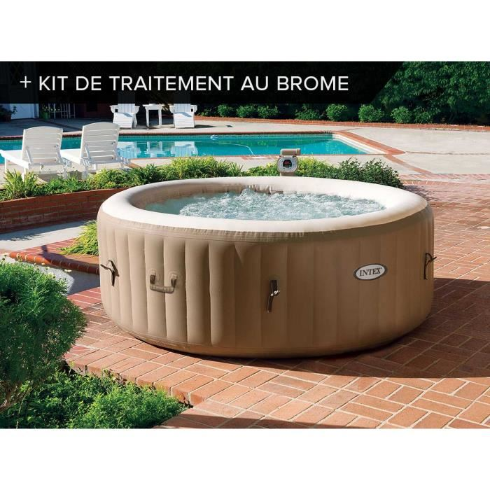 spa intex gonflable 4 places