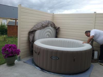 spa intex luxe