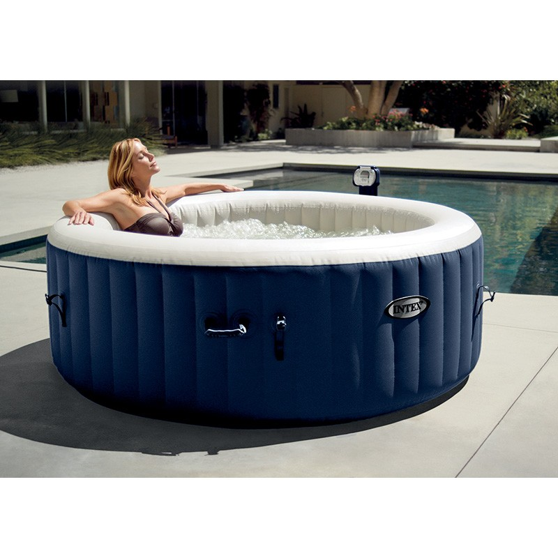 spa intex pure spa bulles 4 places luxe