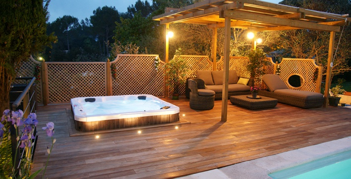 spa intex terrasse bois