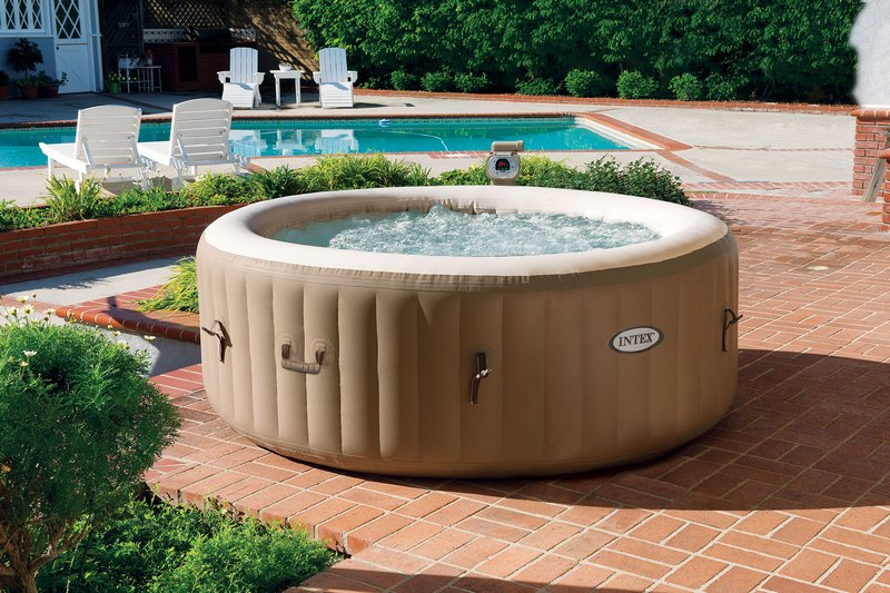 spa intex trou