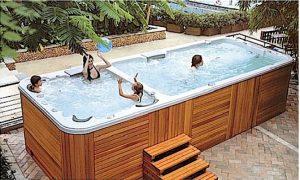 spa jacuzzi de nage