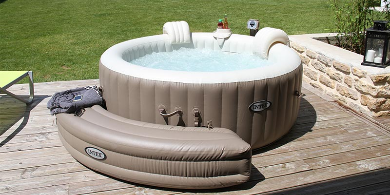 spa jacuzzi exterieur intex