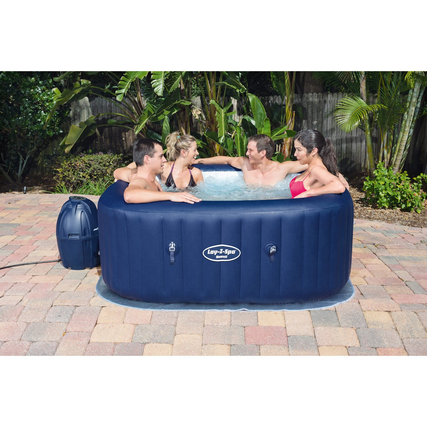 spa jacuzzi gonflable 4 places