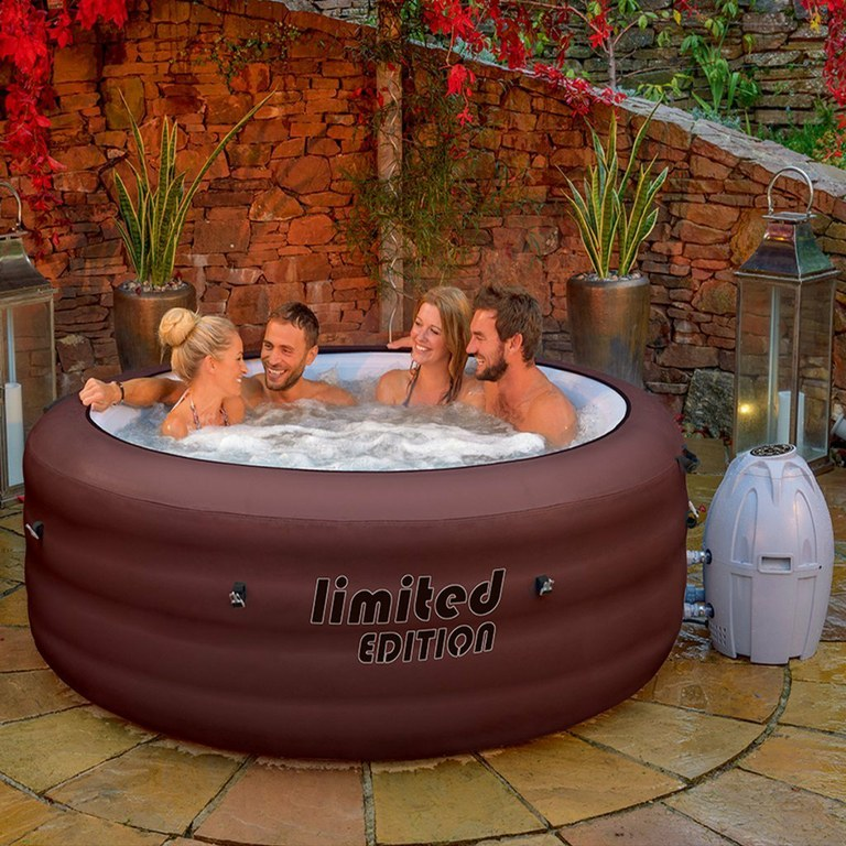 spa jacuzzi gonflable lay-z piscine maison