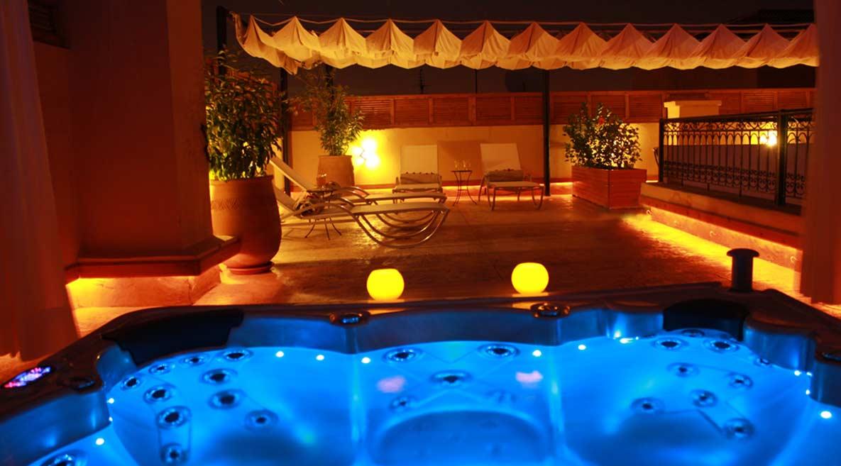 spa jacuzzi marrakech