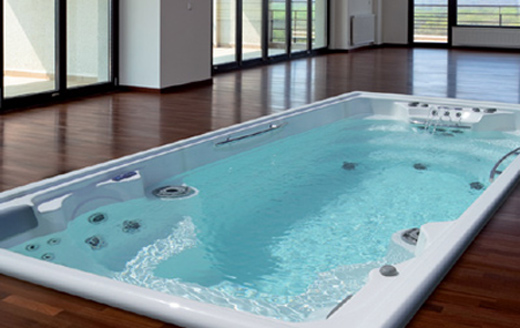 spa jacuzzi nage contre courant