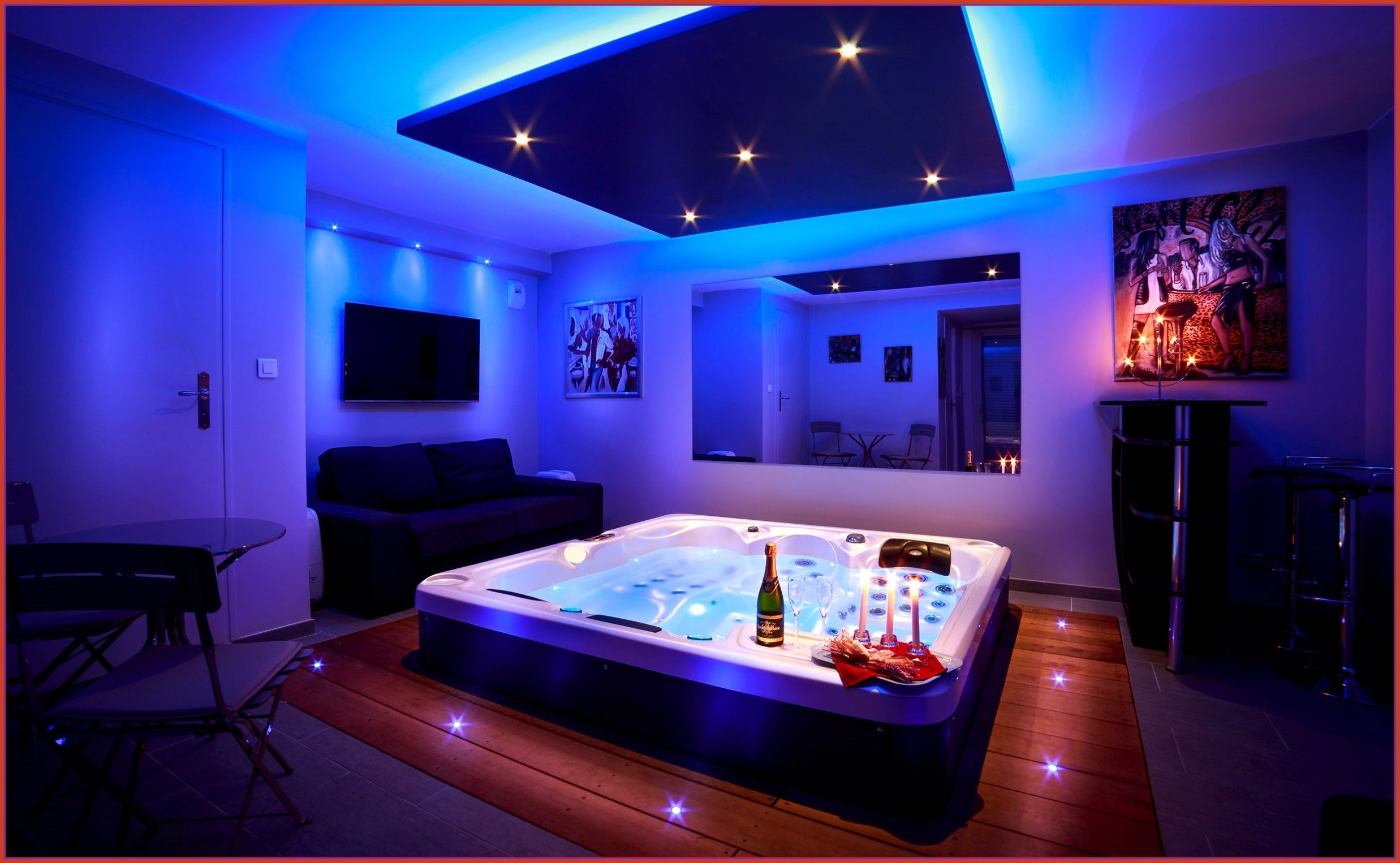 spa jacuzzi nuit nord