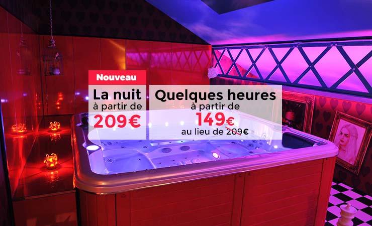spa jacuzzi privatif 95 - Chambre Avec Jacuzzi Privatif Ile De France