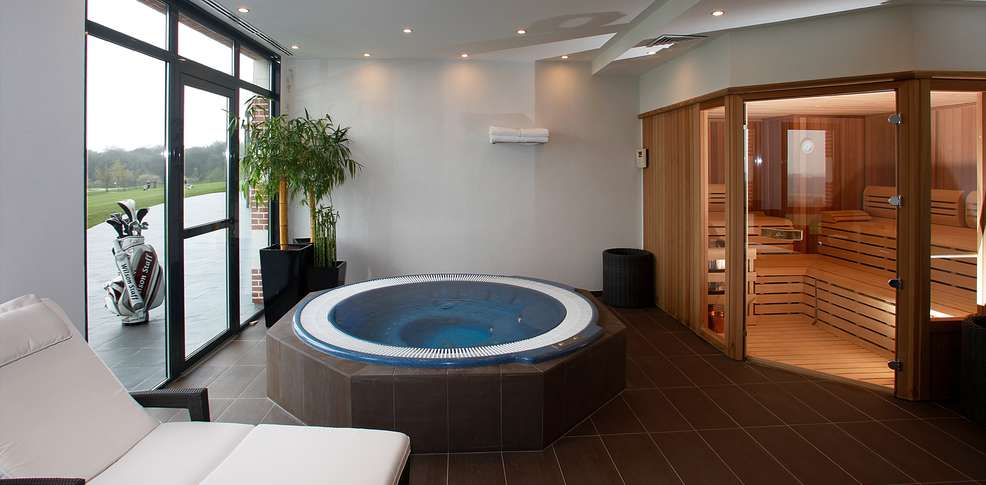 Beautiful Salle De Bain De Luxe Avec Jacuzzi Ideas - House Design ...